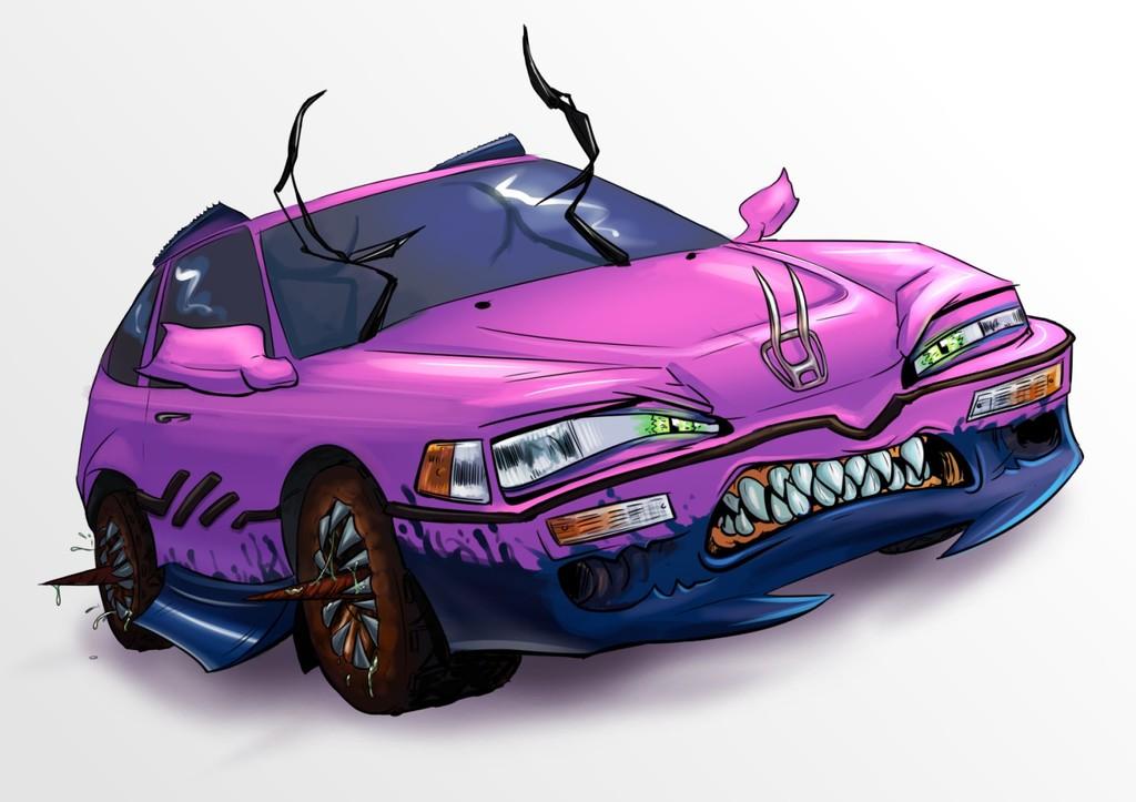 Horrible Honda - Commission