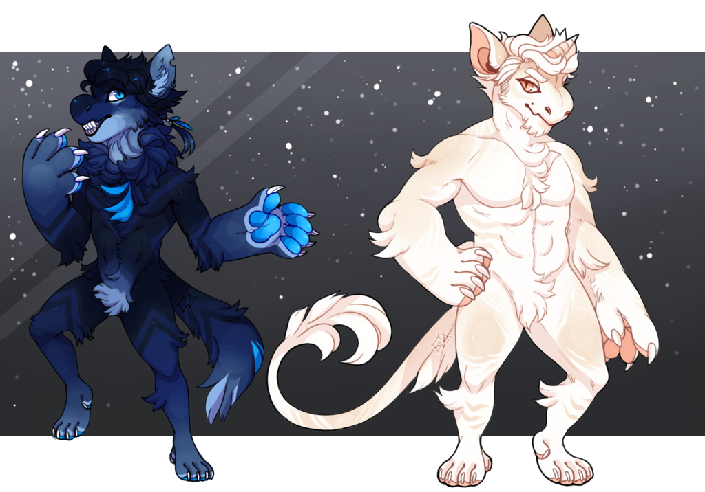 Manly Fluffpaws [Guest Artist Designs]