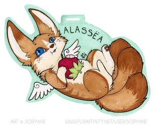 Alassëa - Chibi Badge