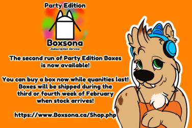 The Boxsona Party Continues!