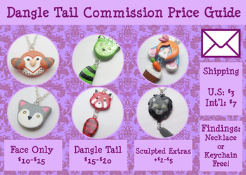 Dangle Tail Commission Visual Price Guide