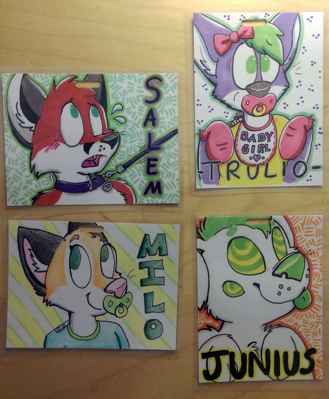 FAU badge examples