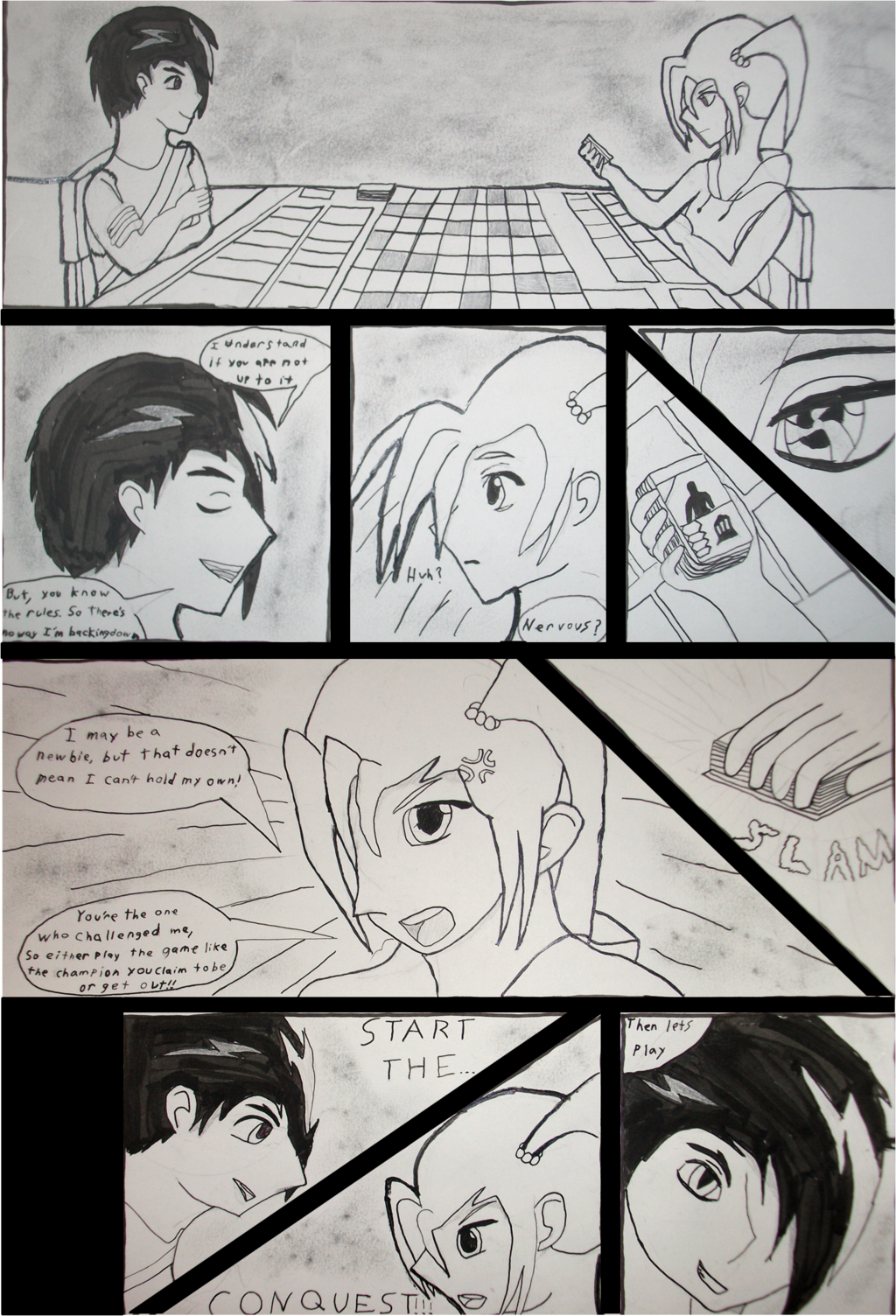 Sanctuary Preview Comic Page1 (READ RIGHT TO LEFT)
