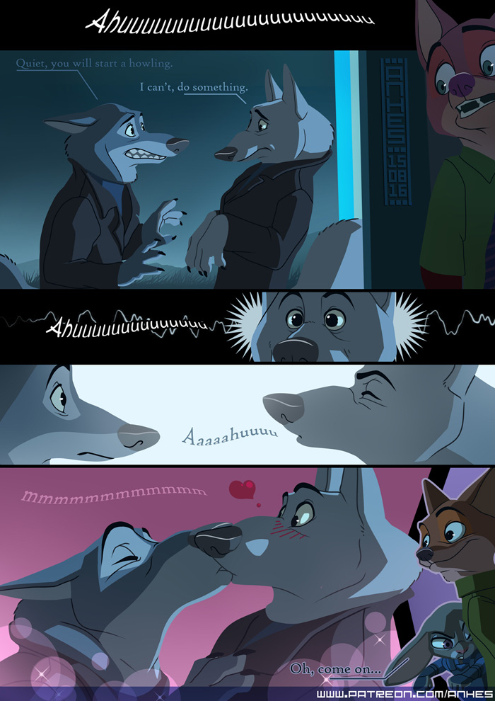 How to stop a howling - mini comic