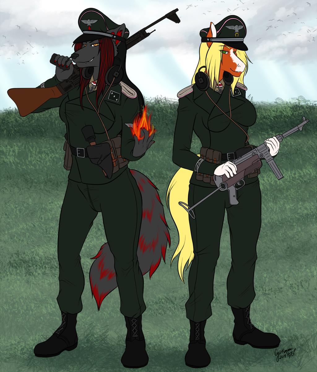 Flat color commission for rangerwolff203