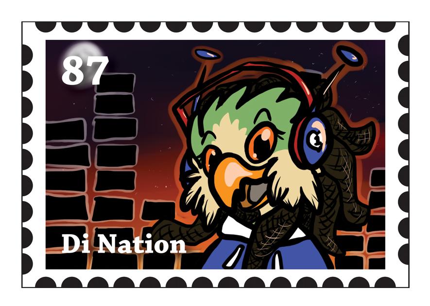Di Stamp Badge