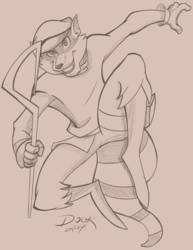 Sly Cooper - Warmup Sketch