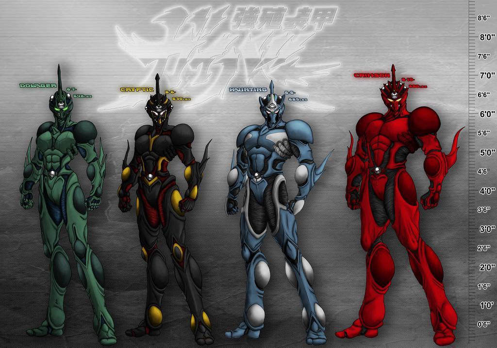 Most recent image: The Guyver PD: Bio Boosted Height Chart