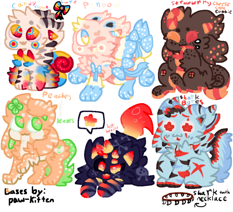 Open kittydog adopts! (2/6)