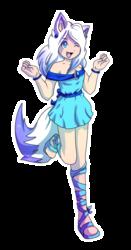 Sapphire the Wolf Gijinka