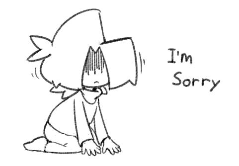 Guy Apologizes