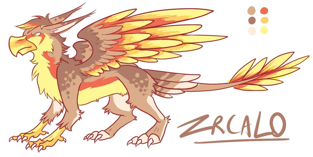 Zrcalo Griffin reference sheet