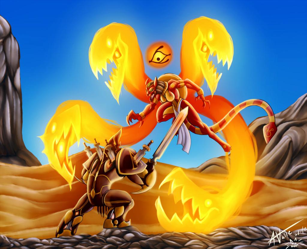 Sekhmet vs. Ares
