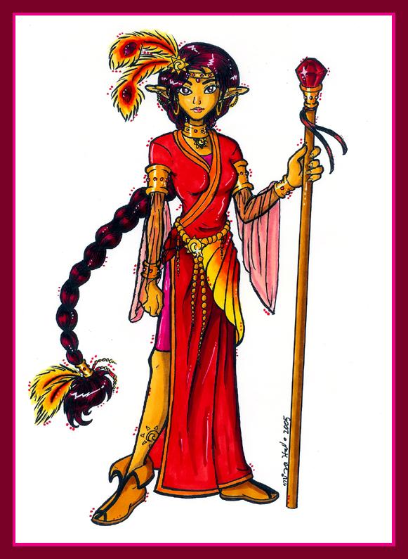 Fire Priestess