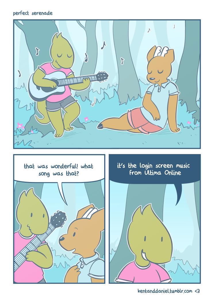 [comic] perfect serenade