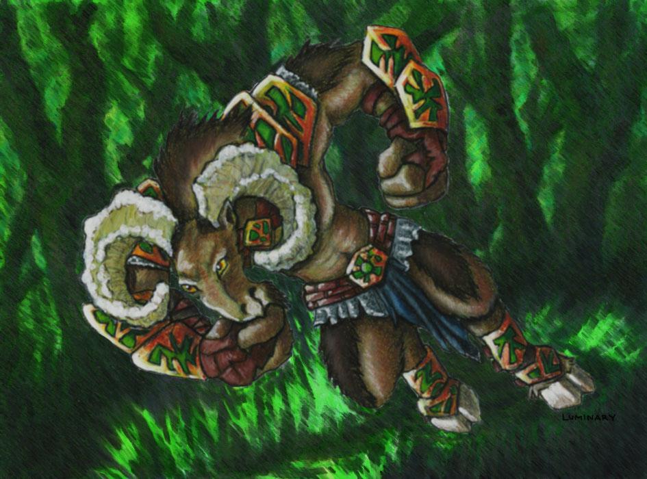 Gnarlhorn Satyr SLAM! - 2010
