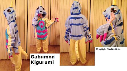 Gabumon Kigurumi