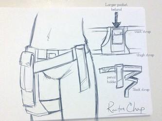 Keaton Chap detail