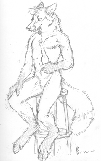 Sketchbook Dump FC'09 - Thornwolf