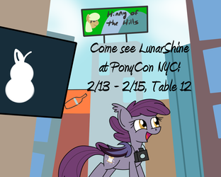 LunarShine at Ponycon NYC!