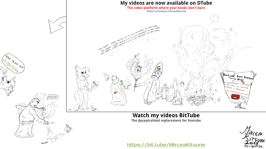 My animations are up on BitTube
