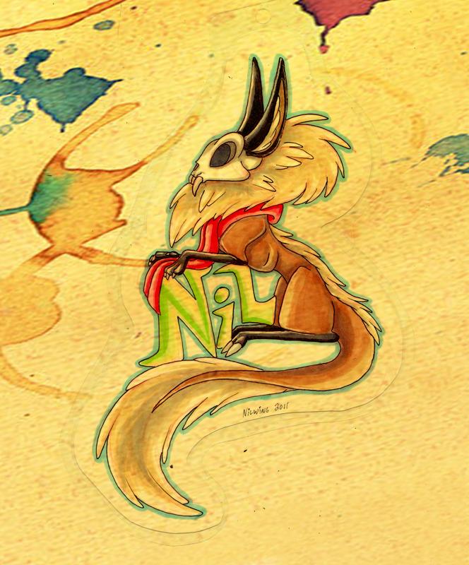 Nil Skullcat Badge