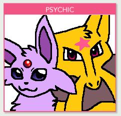 Favorite Pokemon by type (Daily) #14 Espeon & Kadabra