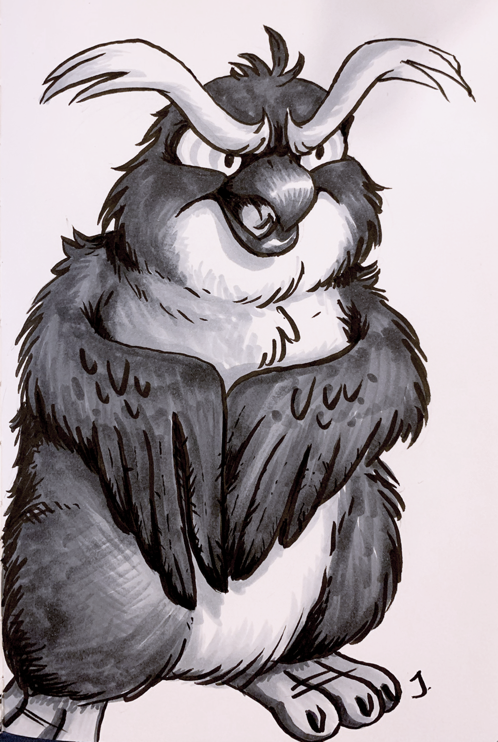 Marcelle the Owl