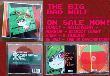 THE BIG BAD WOLF CD'S - ON SALE NOW!