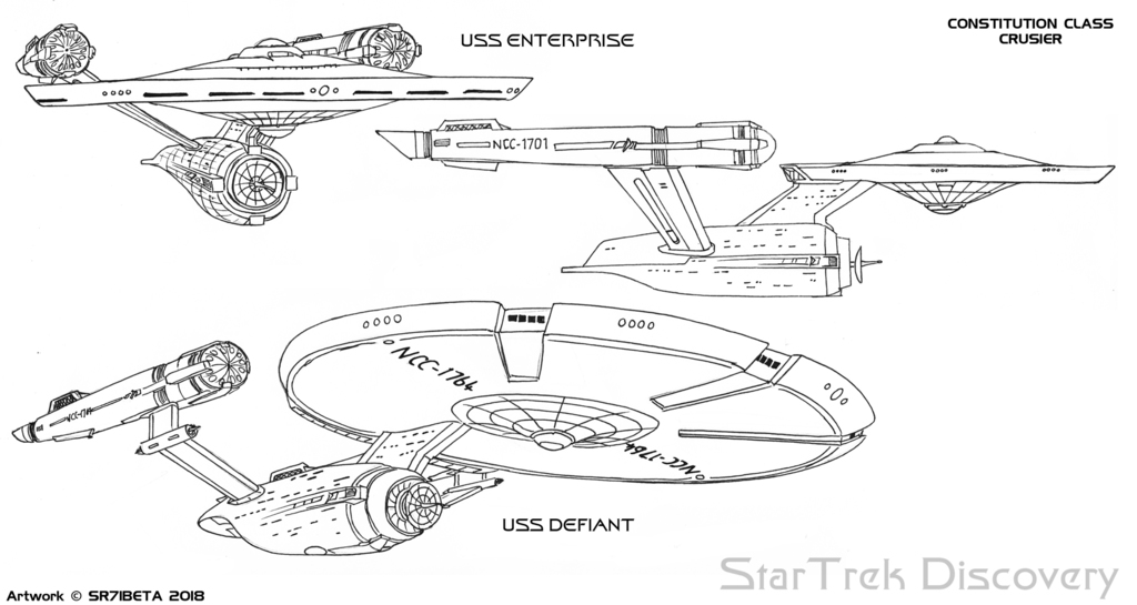 Most recent image: StarTrek Discovery - Constitution Class