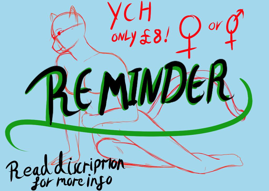 YCH: reminder
