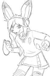Dancin' bunny.