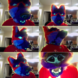 Fursuit head 3