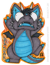 Radar - Derp Badge