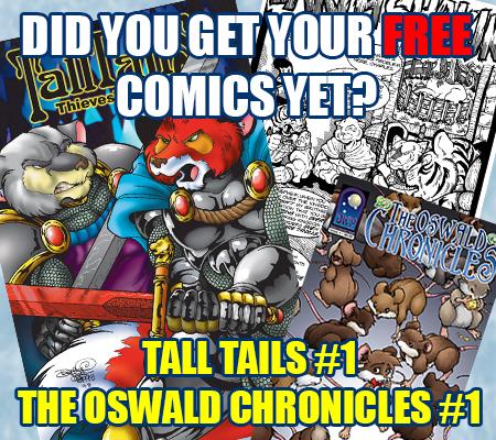 Hey kids! FREE COMICS!
