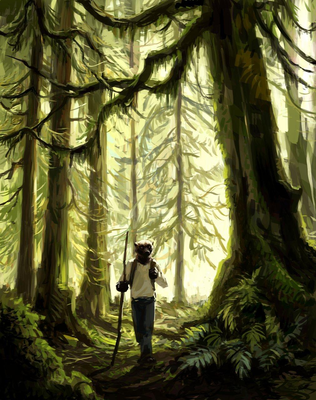 Woods Trek - by Kenket