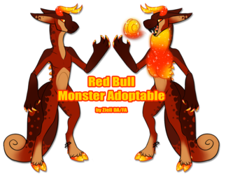 [CLOSED] Red Bull Monster Adopt