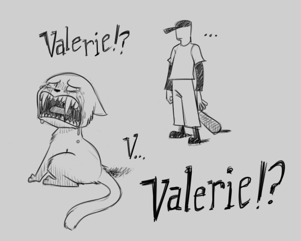 Most recent image: Where are you, Valerie