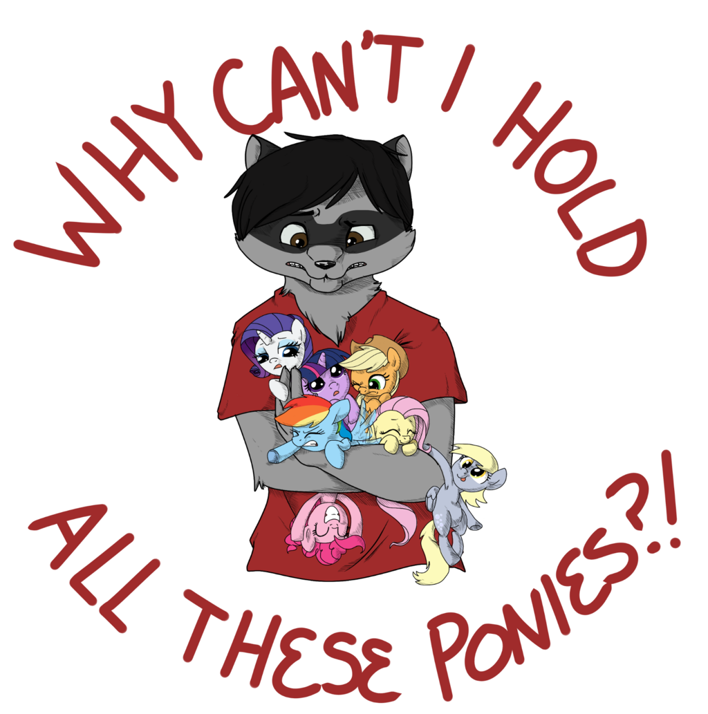 Featured image: Why can't I hold all these Ponies!?!