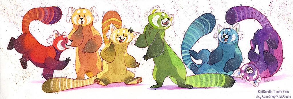 Pride Pandas