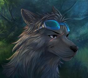 ShadowNightclaw's portrait commission
