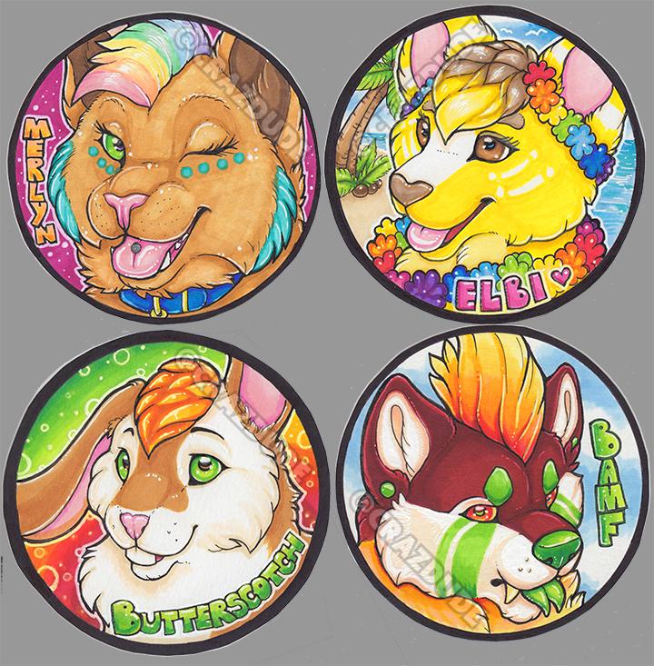 LBfromTheBlock Circle badges