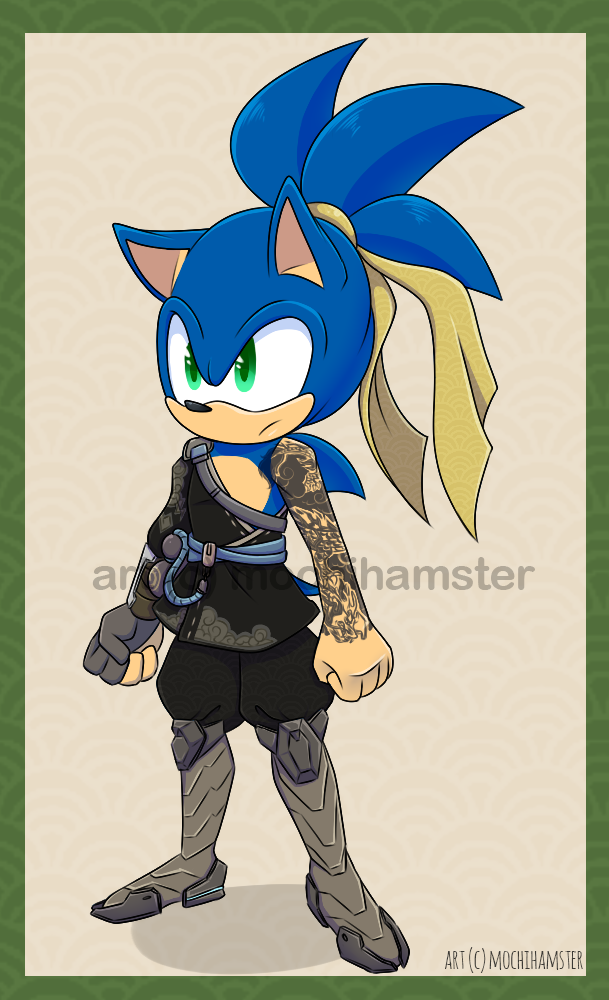 Most recent image: Hanzo Sonic [Crossover]