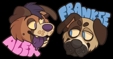 Alex and Frankie Digital Badges