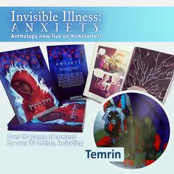 [Kickstarter] Invisible Illness Anthology: Anxiety