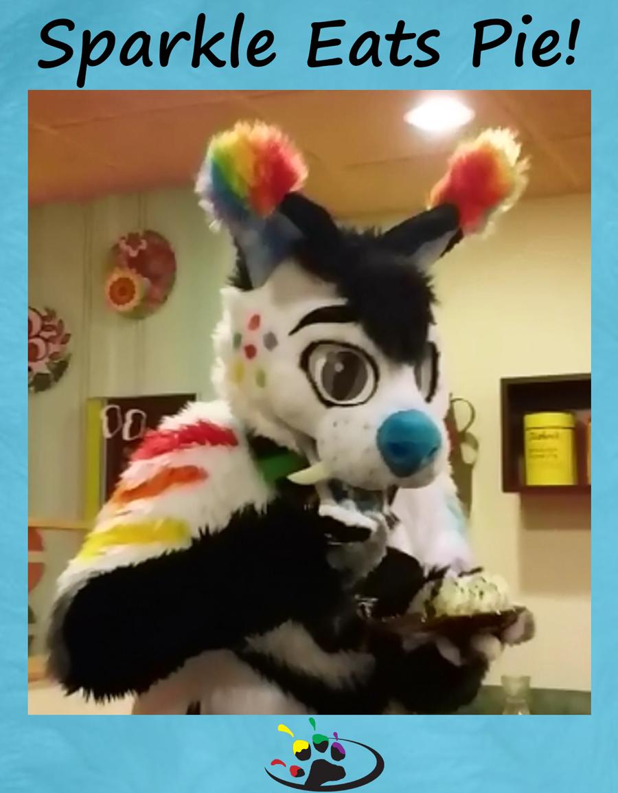 Sparkle Eats Pie! (Video)