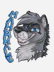 Mahrkale badge