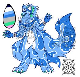 Icey Aqua wolfess +Design 4 Sale+