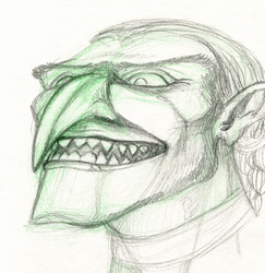 Troll and goblinkin physiology studies and thoughts