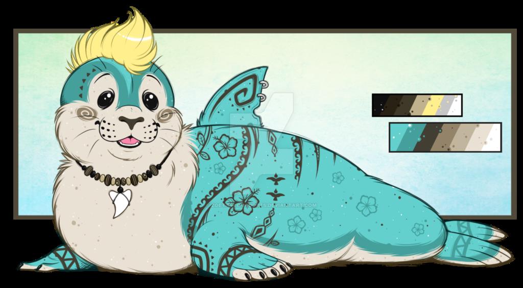 Surfer Seal! Custom for X-SplatterPaw-X